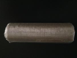tule op rol organza kleur metalic  500 cm