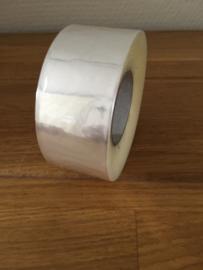 rol lint plastic doorzichtig 32 mm 100 meter