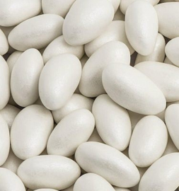 amandel dragees kleur wit 500 gram