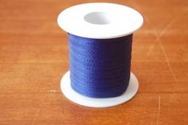 lint stof 20 mtr donker blauw per rol
