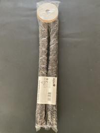 Wax fakkels set van 2 met handvat en handbescherming