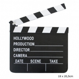 klapbord film 18 x 20.5cm