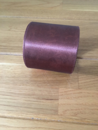 lint op rol satijn bel  3 m x 7 mm