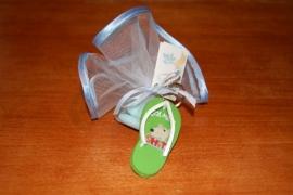 slippers muizen sleutelhangers