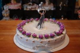 huwelijk hartjes taart