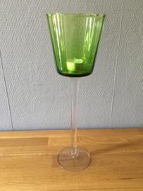 groot model glazen theelicht houder
