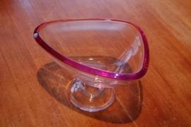 walther glas schaal op voet