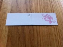 speen roze strik 37 stuks