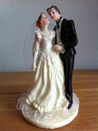 taarttopper huwelijk koppel liefde type a