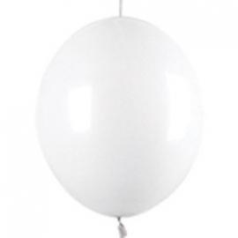 linkoloon ballonnen 10 stuks wit