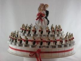 bruidspaar taart type 1
