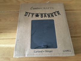 DIY WORDBANNER 120 LETTERS/CIJFERS Slinger