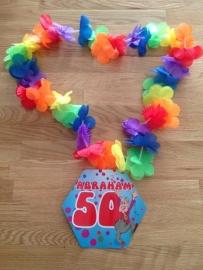abraham feest krans 50 jaar
