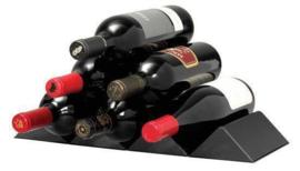 Le Creuset wijnrek cube zwart croco