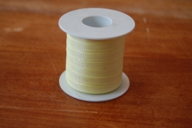lint stof 20 mtr geel per rol