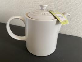 Le Creuset Medium Grand Teapot  1.3 Liter Kleur Coton
