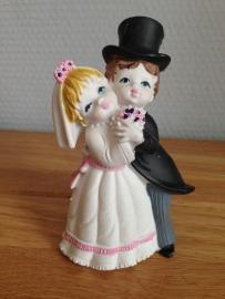 huwelijk koppel taarttopper
