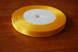 lint stof gl geel smal 20 meter per rol