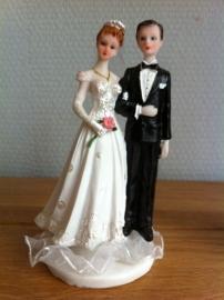 taarttopper huwelijk koppel liefde type b