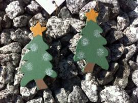 hanger met koord kerstboom