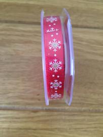 stoffen lint kerstmis rood 15 meter