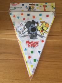Woezel en Pip vlaggenlijn confetti