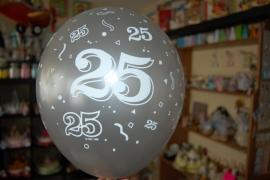 25 jaar ballonnen