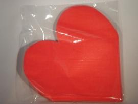 servetten hart rood