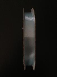 satijnen lint stof licht blauw per rol