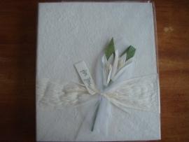 receptieboek met bloem 2 am gb07