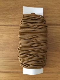 lint elastisch licht  bruin 20 meter