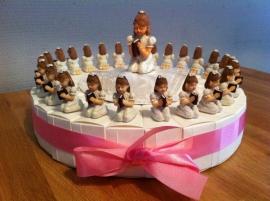 communie  meisje taart