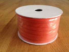 lint stof kleur oranje per rol