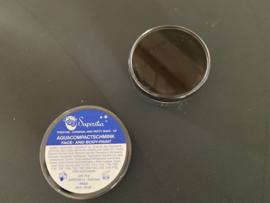 aqua compact schmink face en body paint kleur zwart