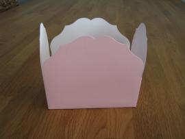 bonbon doosje roze 375 gram