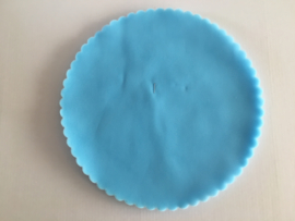 tule blauwe  per stuk