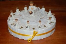 communie combi kelk jongen  taart
