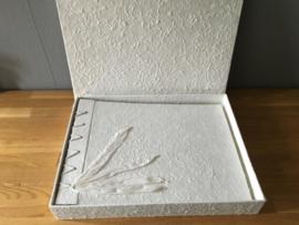 receptieboek luxe met bewaar doos  groot model am lk02