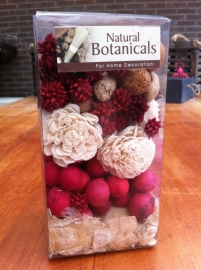 naturel botanicals pakket decoatie