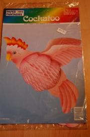 papieren model cockatoo