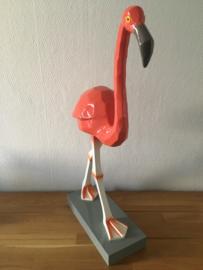 Coco Maison flamingo op voetstuk