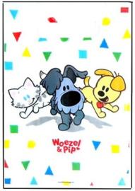 Woezel en Pip feestzakjes confetti 8 stuks