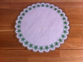 taart papier bedruk doorsnede 27 cm aantal 10 st