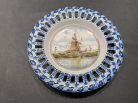 "Royal Makkum Plate ""Landscape"" Model 3"