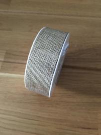 lint op rol metalino goud 2.5 meter x 25 mm