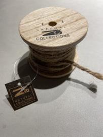 touw jute op kleine rol 50 gram
