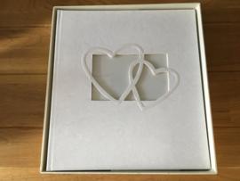 dubbel hart receptieboek incl bewaardoos