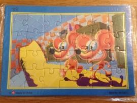 puzzel type muis