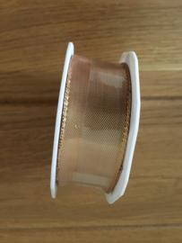 lint op rol copper  2 meter x 25 mm