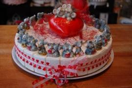 muizen taart hartjes
